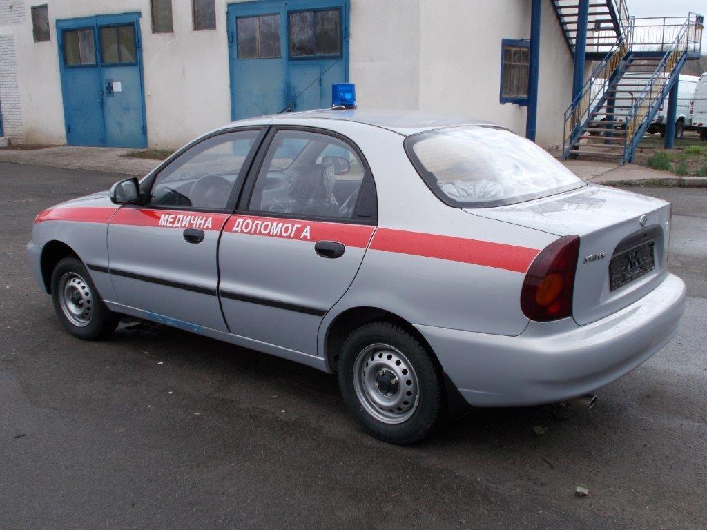 санитарный автомобиль daewoo