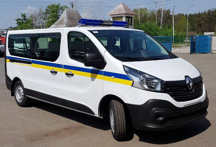 Автозак на базе Renault Master