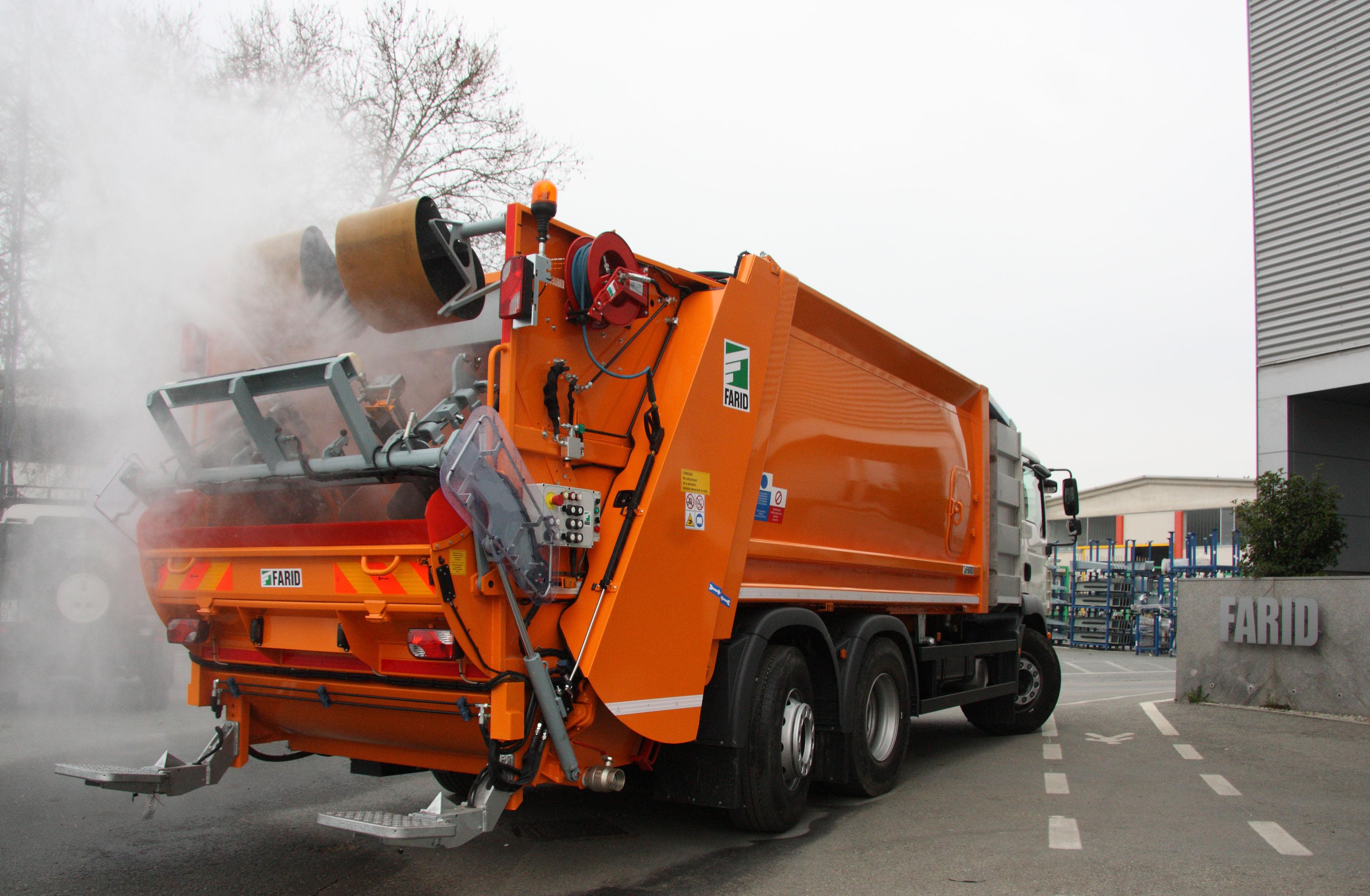Купить мусоровоз в Украине