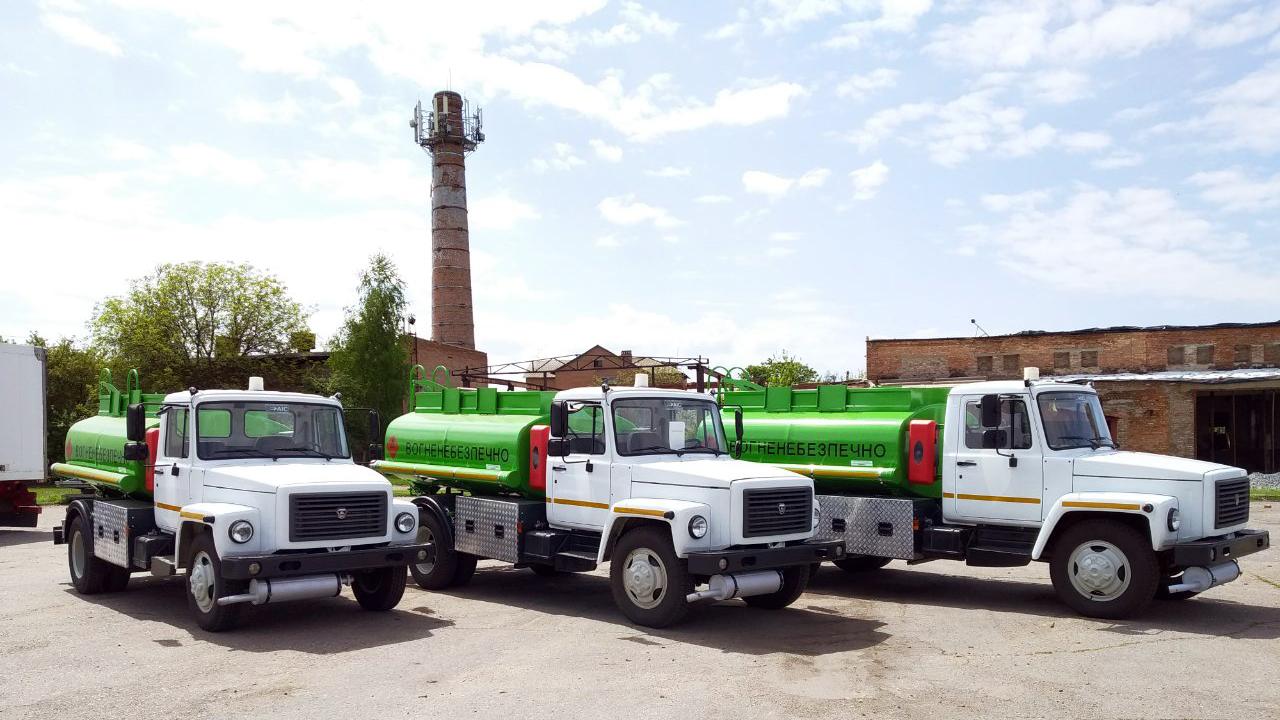 топливозаправщики на базе газ