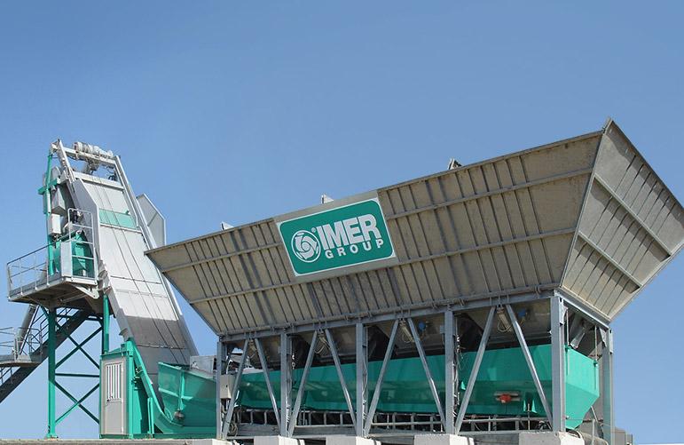 мобильный бетонный завод IMER Group