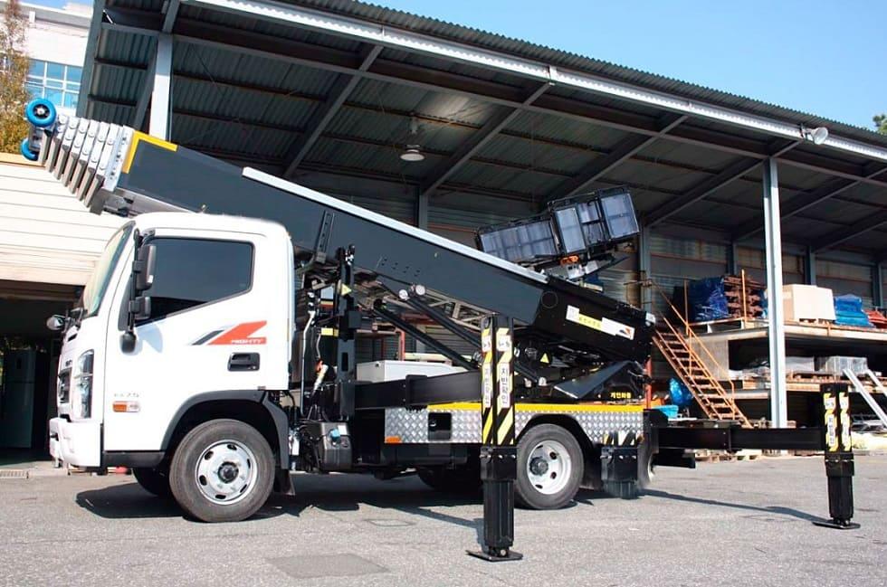 Автомобильные подъемники грузовые DASAN