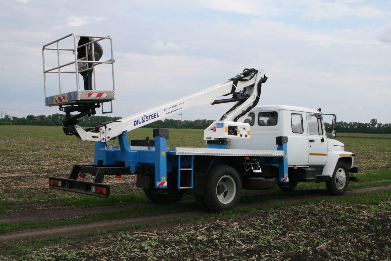автогидроподъемник на базе ГАЗ