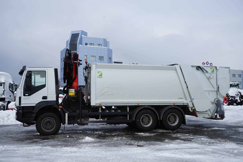 мусоровозы с кму