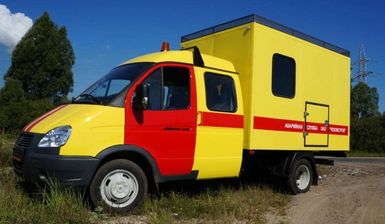 аварийно-ремонтная машина ГАЗ