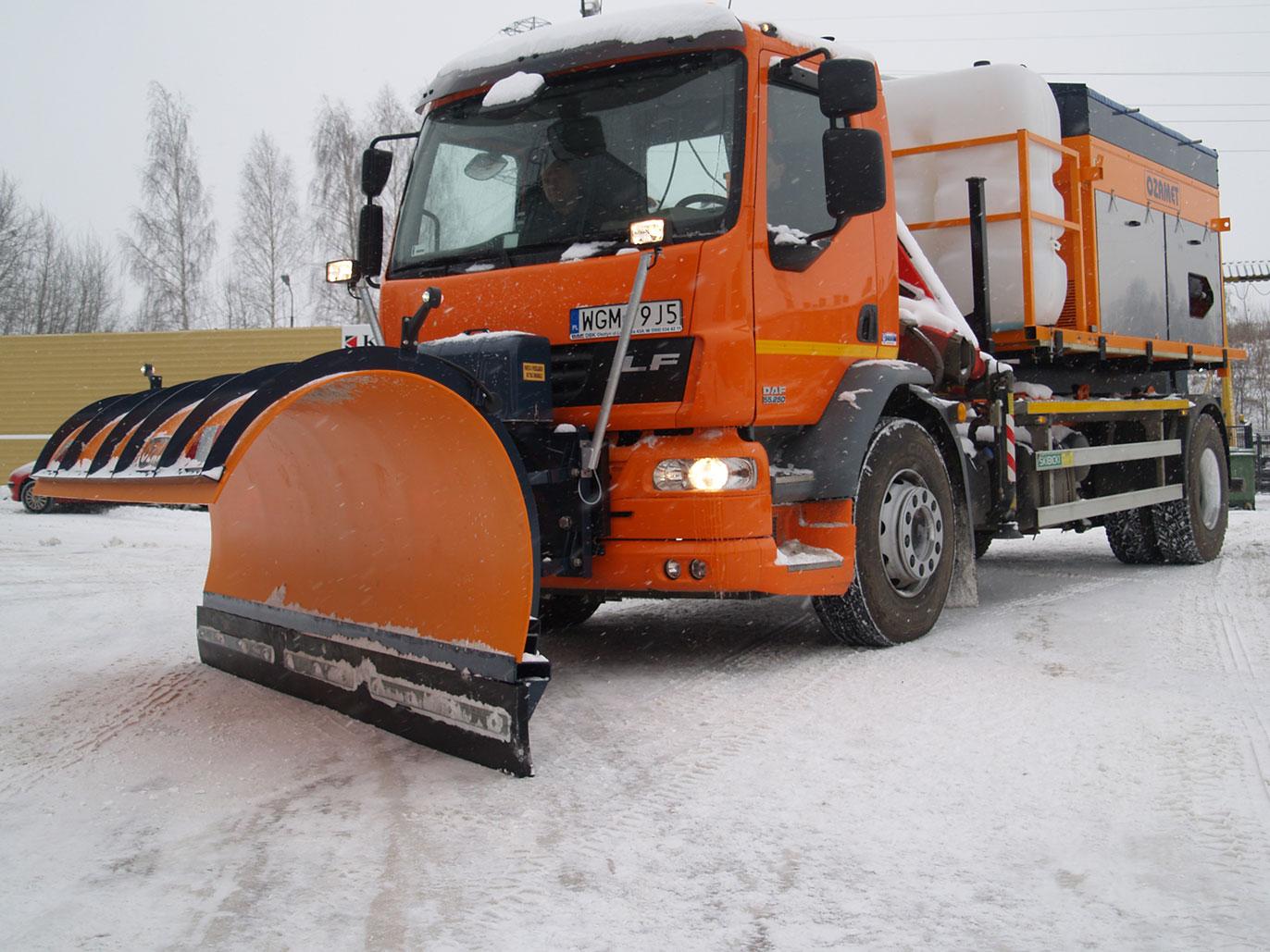 Снегоуборочная машина Ozamet