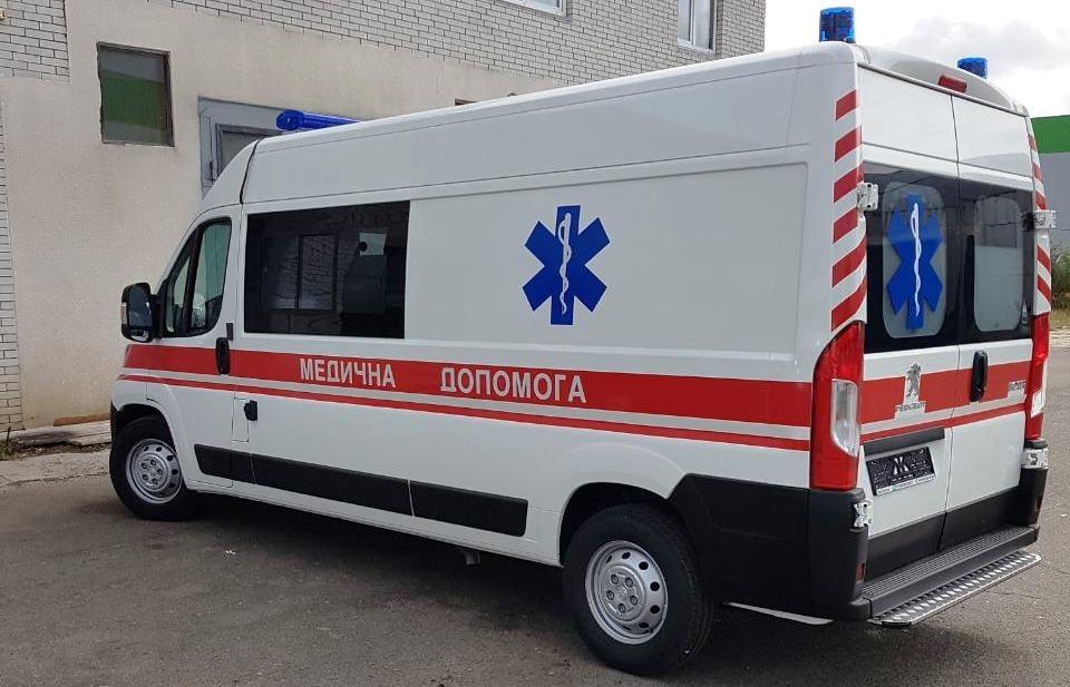 автомобіль швидкої медичної допомоги на базі Peugeot Boxer