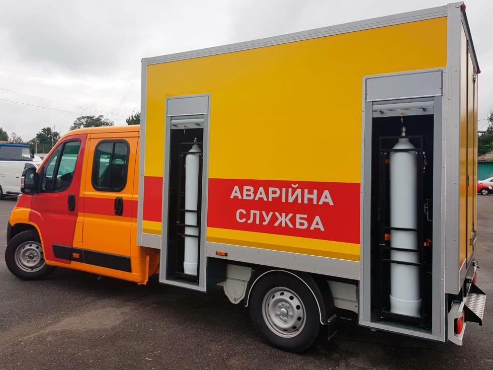 аварийно-спасательных машин на базе автотехники Citroen