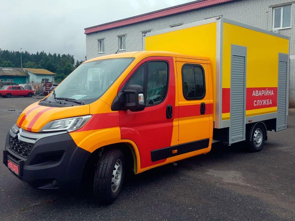 аварийно-спасательные авто Citroen в Киеве