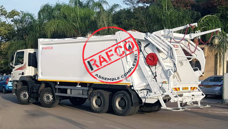 мусоровозы рафко украина
