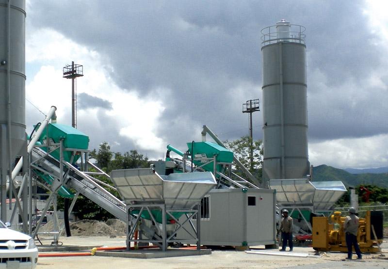 быстровозводимый бетонный завод IMER
