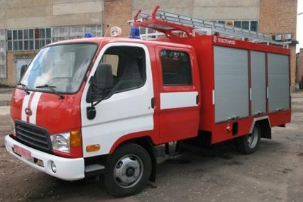 Пожарная спецтехника