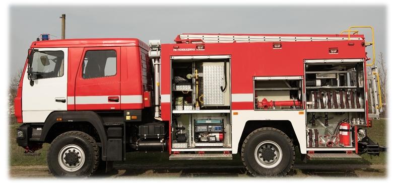 Спецтехника пожарная в Украине