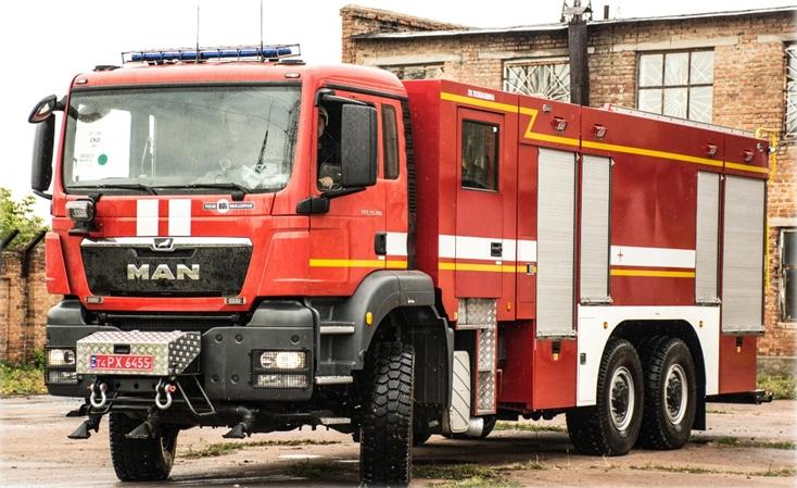 Заказать в Украине пожарную спецтехнику