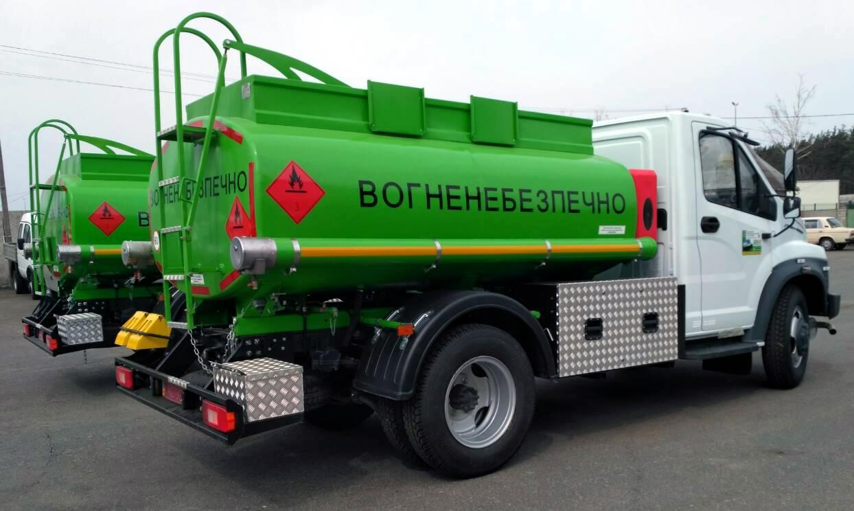 Топливозаправщик – производство Техкомплект Украина