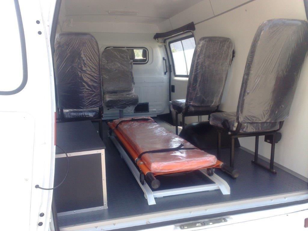Машины скорой помощи новые