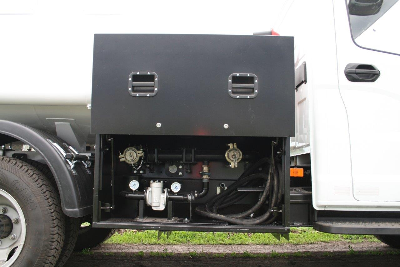 система учета топлива в топливозаправщике