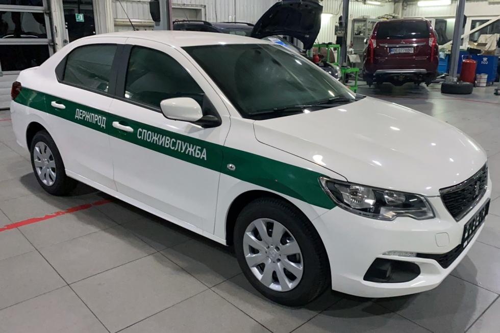 Citroen, Peugeot спецавтомобиль держпоживслужба