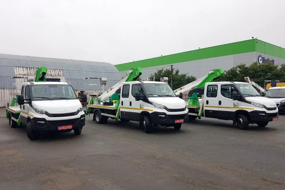 продажа автовышек техкомплект на базе iveco