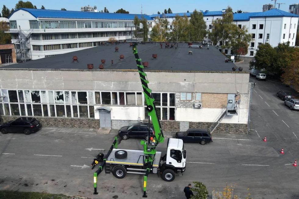новый автогидроподъемник iveco купить украина