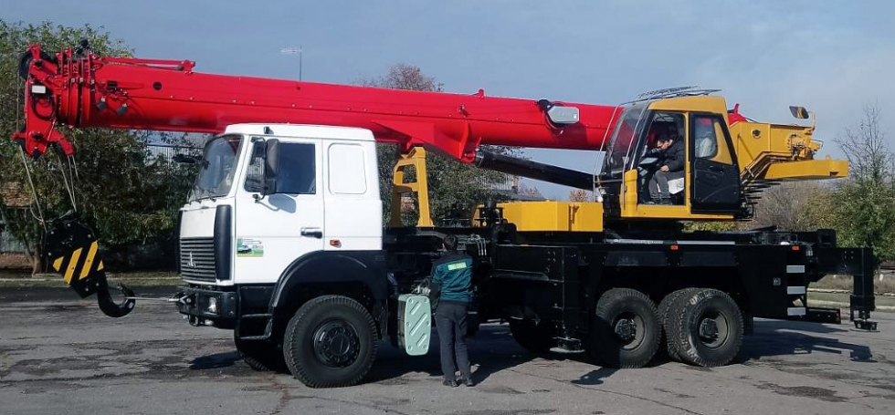 Автокран производство Украина