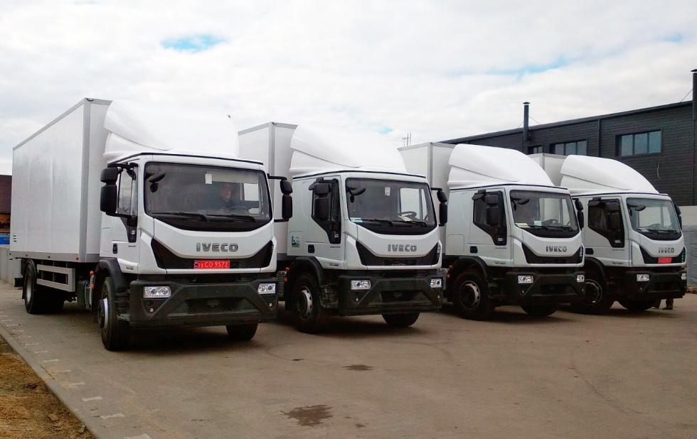 фургоны iveco eurocargo