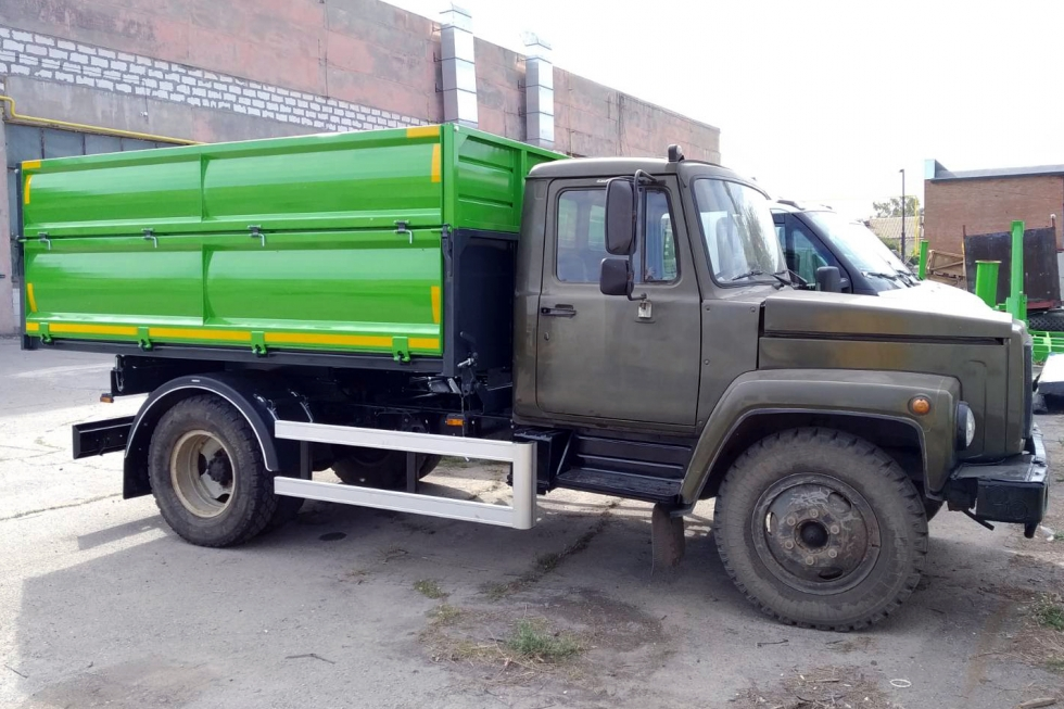 новый кузов на шасси газон