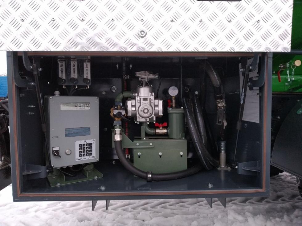 выдача топлива модуль славутич