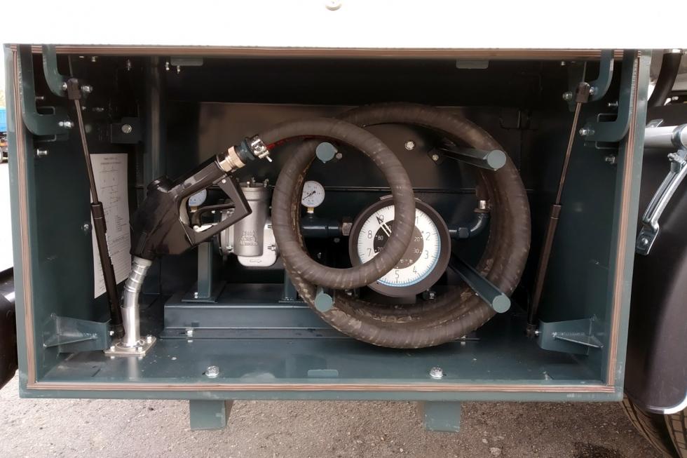 Встроенная система учета топлива в топливозаправщиках