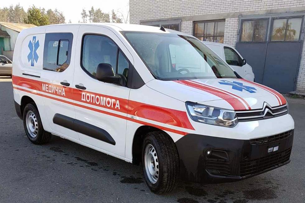 автомобиль скорой медицинской помощи citroen berlingo