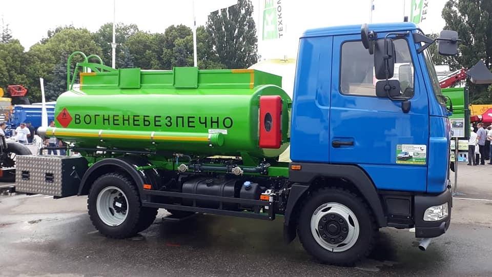 Автоцистерна на бензовоз ral 6018