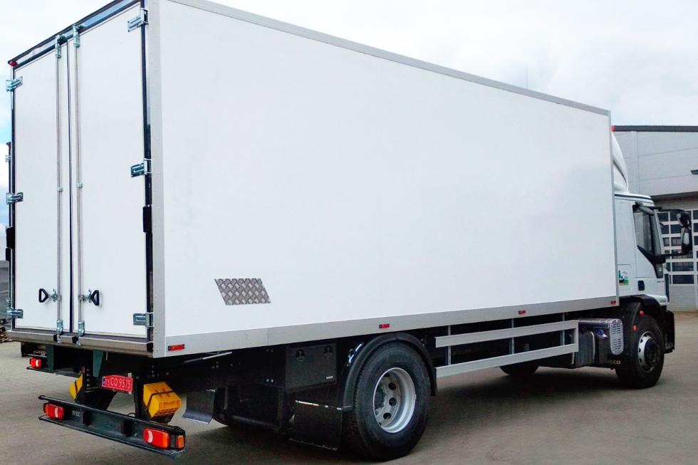 фургоны на базе iveco eurocargo