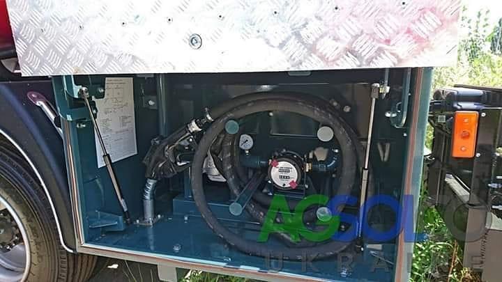 Топливозаправщики – встроенная система учета топлива