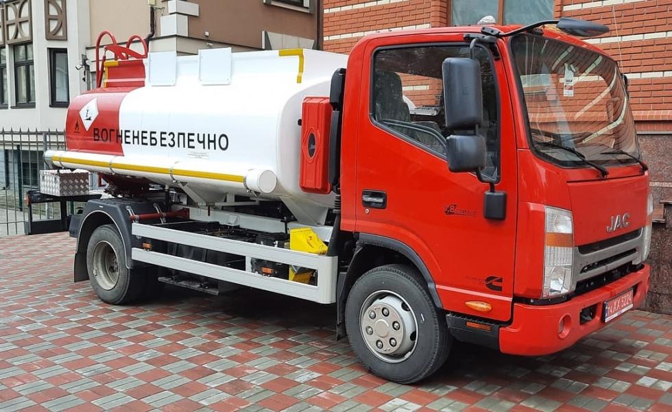 топливозаправщики jac техкомплект