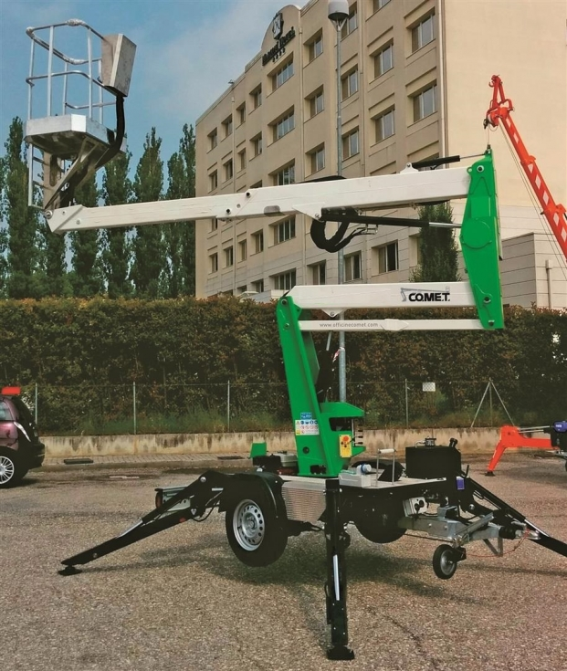 Автогидроподъемники Comet на прицепах заказать в Киеве