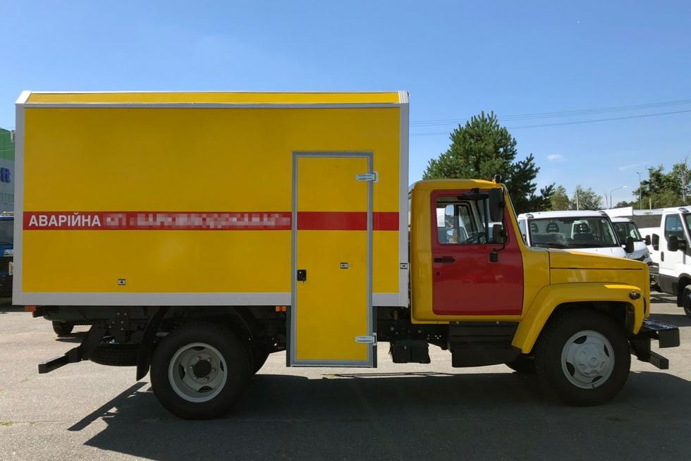 аварийно спасательная машина газ 3309