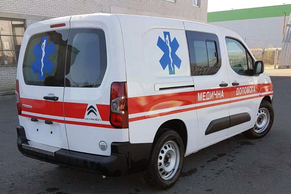 Машины скорой помощи Citroen 4х4 - безотказная медпомощь в любых условиях