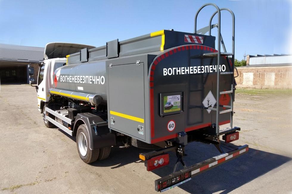 Система раздачи и учета топлива в бензовозе