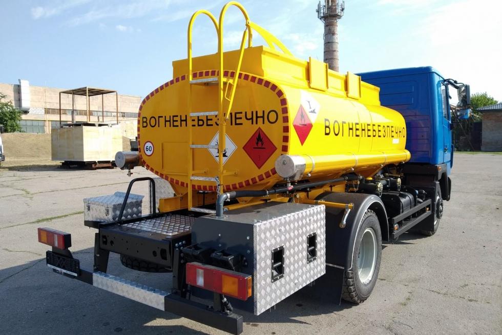 бензовоз выдача и учета топлива
