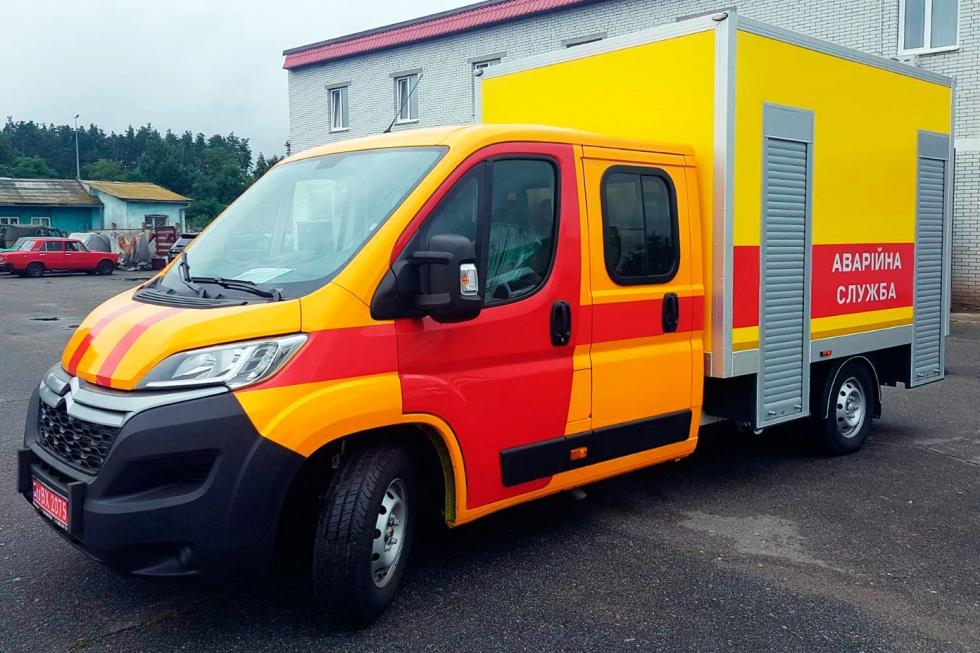 производство техкомплект аварийно ремонтные автомобили на базе citroen jumper