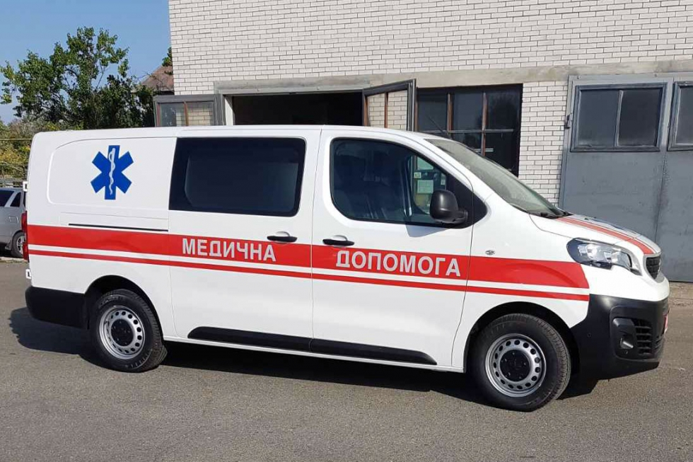 автомобиль скорой медицинской помощи на базе Peugeot Expert